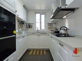 100平米三室兩廳美式風格廚房欣賞圖