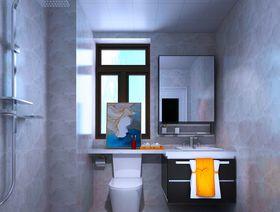 120平米三室兩廳現代簡約風格衛生間效果圖
