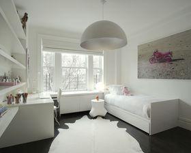 100平米北欧风格儿童房图片