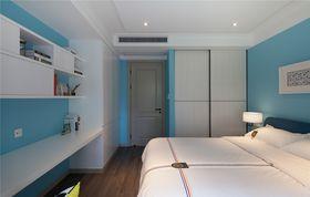140平米四室两厅北欧风格卧室图