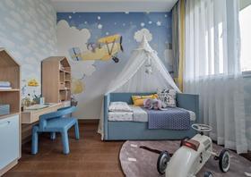 90平米现代简约风格儿童房装修图片大全