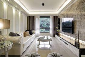 140平米三室两厅新古典风格客厅装修图片大全