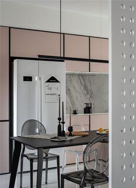 140平米三室两厅混搭风格餐厅装修效果图