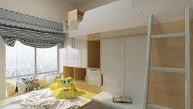 110平米现代简约风格儿童房图