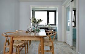 100平米三室两厅北欧风格餐厅图