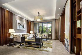60平米三室兩廳中式風格客廳裝修圖片大全