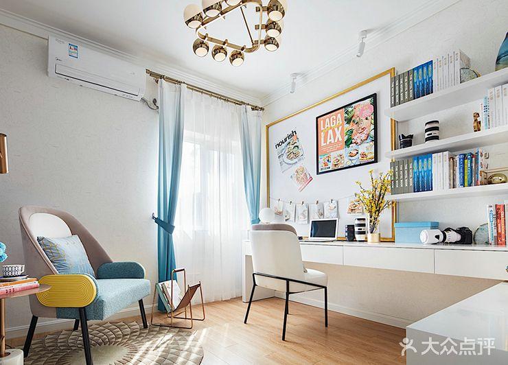 120平米三室一厅混搭风格儿童房效果图