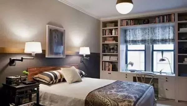 不用专门预留书房了,这种卧室书房一体的设计最实用!