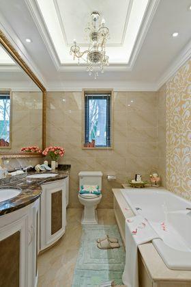 120平米三室两厅法式风格卫生间欣赏图