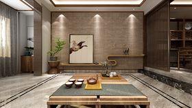 140平米复式日式风格客厅装修效果图