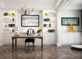 120平米三室兩廳歐式風格客廳裝修案例