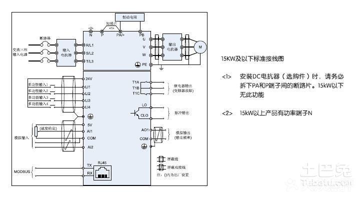 谁能看懂台达变频器接线图