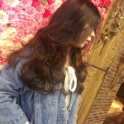 丽人 美发图库 造型烫效果图  6333 创意烫发 中发 女