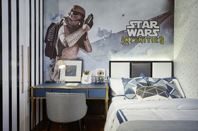140平米四室两厅现代简约风格儿童房效果图