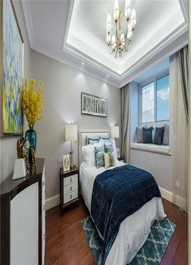 100平米三現代簡約風格臥室飄窗裝修圖片大全