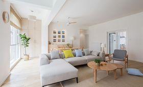 110平米日式风格客厅装修案例