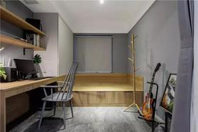 100平米三现代简约风格书房装修图片大全