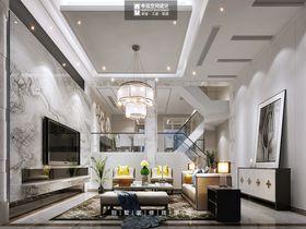 豪华型140平米别墅现代简约风格客厅图片