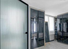 90平米公寓现代简约风格衣帽间图