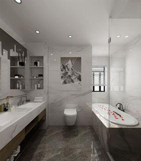 140平米別墅現代簡約風格衛生間圖