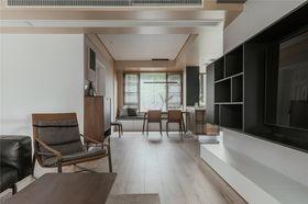 140平米三室一廳現代簡約風格客廳裝修圖片大全