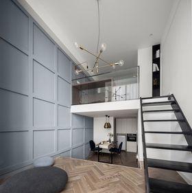 30平米超小户型现代简约风格楼梯间图片大全