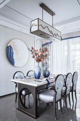 90平米中式风格餐厅图片大全