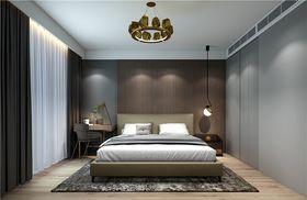 140平米三室一厅混搭风格卧室效果图