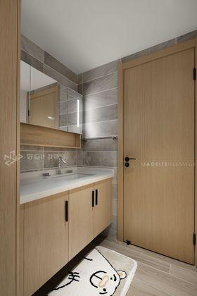 120平米三室兩廳日式風格衛生間效果圖