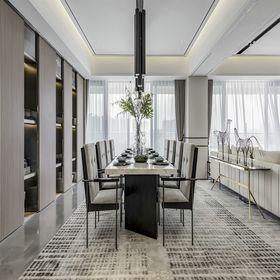 140平米新古典风格餐厅装修案例