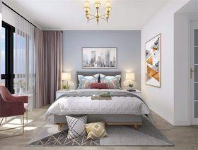 140平米三室两厅欧式风格卧室欣赏图