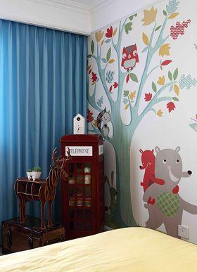 120平米三室一厅混搭风格儿童房欣赏图