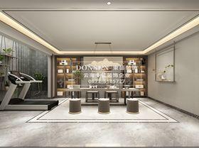 豪华型140平米别墅混搭风格健身室设计图
