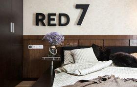 100平米三室一廳現代簡約風格臥室裝修案例