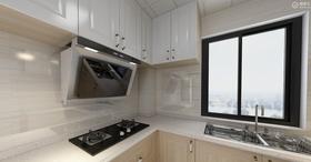 60平米三室两厅北欧风格厨房效果图