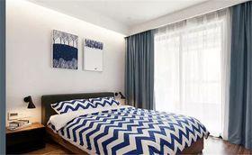 90平米三室一厅宜家风格卧室装修效果图