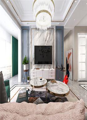 120平米三其他風格客廳設計圖