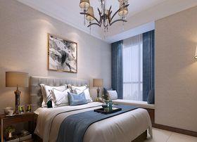 100平米三室兩廳現代簡約風格臥室效果圖