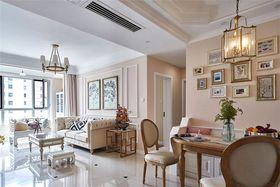 经济型100平米三室一厅现代简约风格客厅装修图片大全