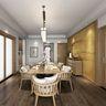 100平米三室两厅日式风格餐厅图