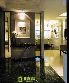 豪华型140平米四室两厅现代简约风格玄关图片