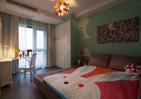 120平米三室两厅混搭风格儿童房欣赏图