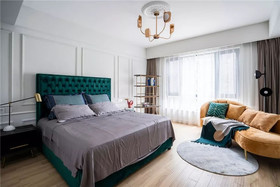 120平米三法式风格卧室装修案例