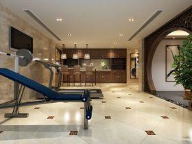 140平米别墅混搭风格健身室设计图