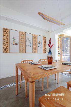 140平米三室两厅日式风格餐厅图