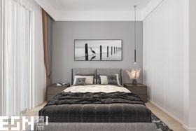 豪华型140平米复式北欧风格卧室图