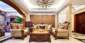 豪华型140平米三室两厅法式风格客厅图片