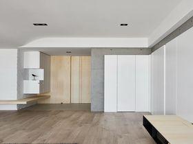 110平米三室两厅北欧风格客厅图片