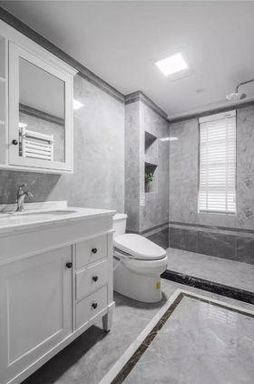 100平米三室两厅美式风格卫生间装修图片大全