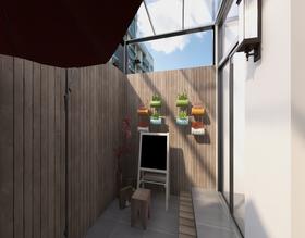 60平米现代简约风格阳光房欣赏图